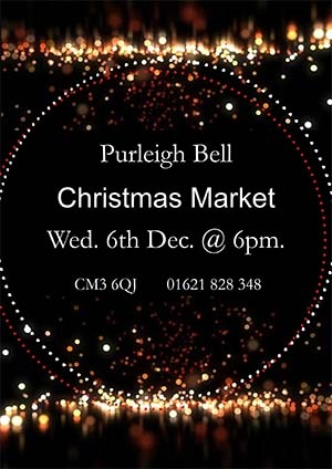 THE PURLEIGH BELL CHRISTMAS MARKET